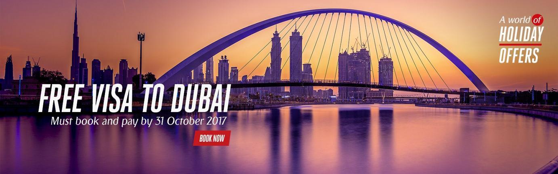 emirates holidays free dubai visa