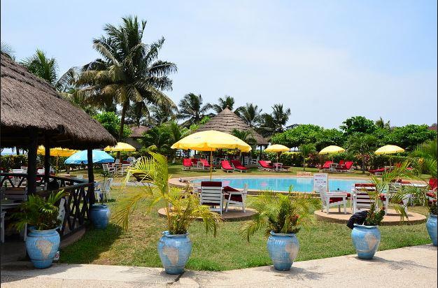 ghana beach resort