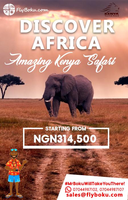 discover africa in kenya slide