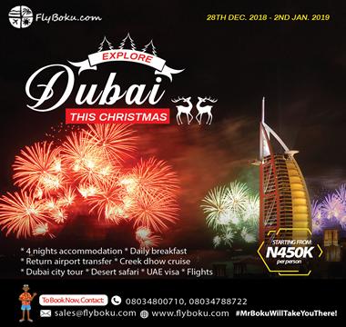 Dubai for christmas