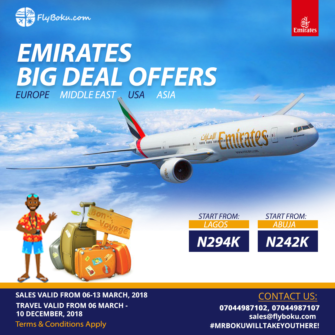emirate deal 2018
