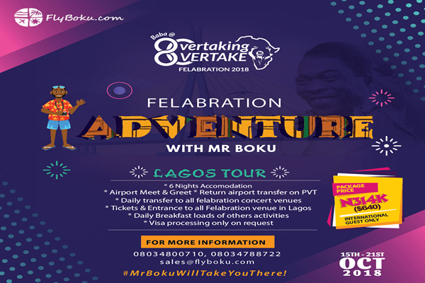 Felabration Adventure