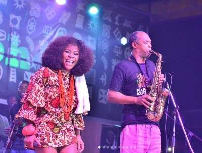 Felabration Omawumi and Femi Kuti