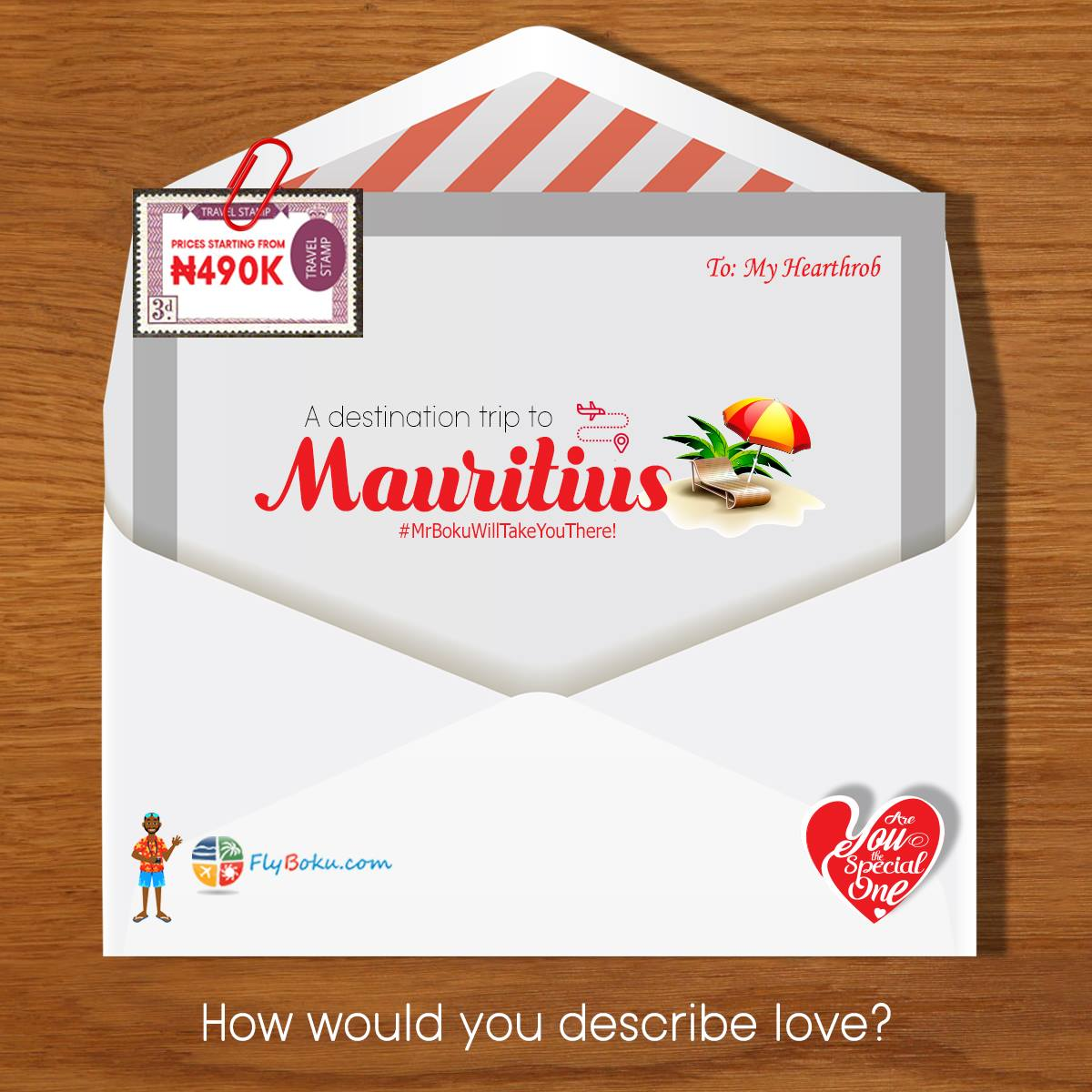 mauritius valentine package