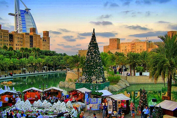 christmas-near-burj-al-arab