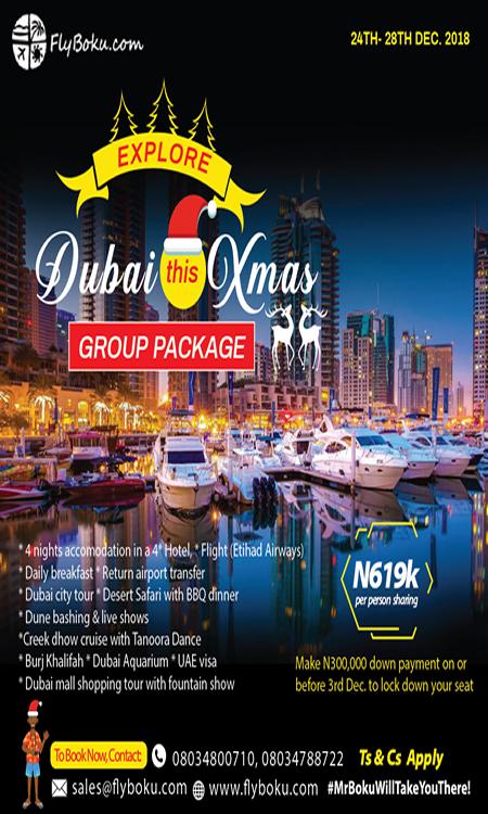Dubai Xmas sales