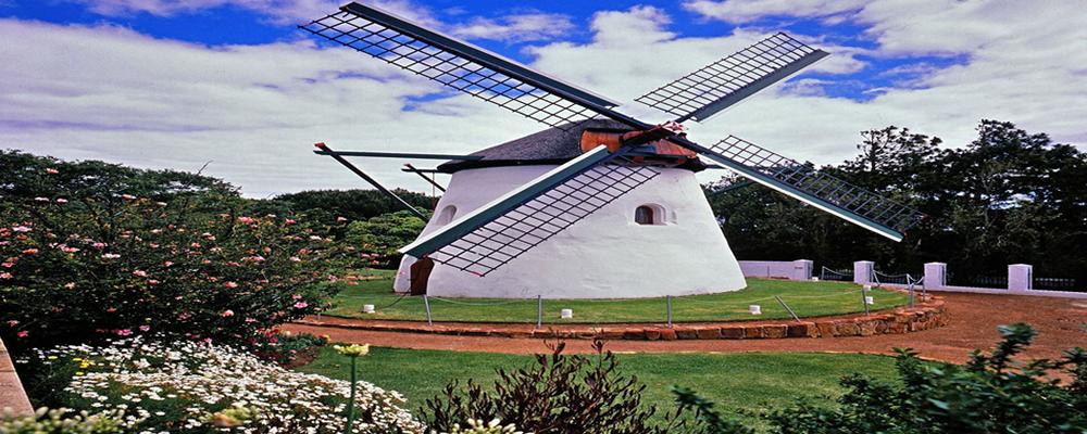 Famous windmill restaurant