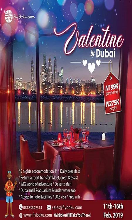 valentine in Dubai