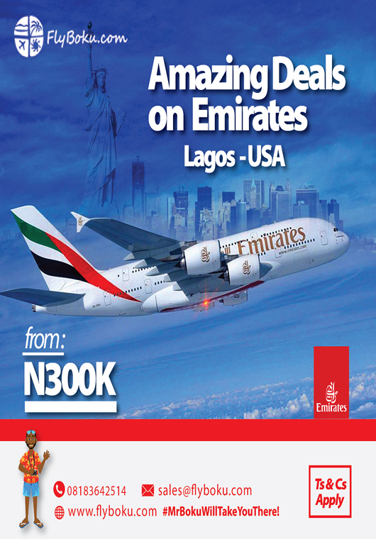 Amazing deals on Emirates