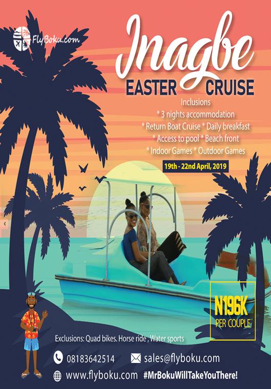 Inagbe Easter cruise