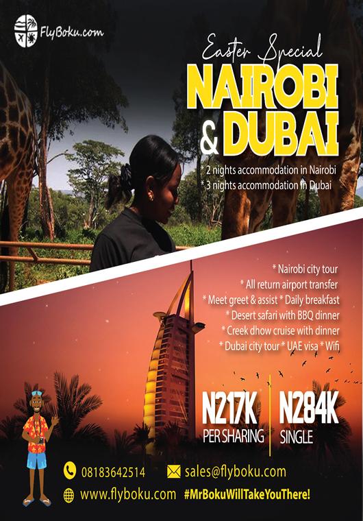 Nairobi & Dubai Easter Tour