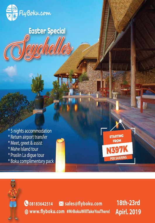 Seychelles Easter special