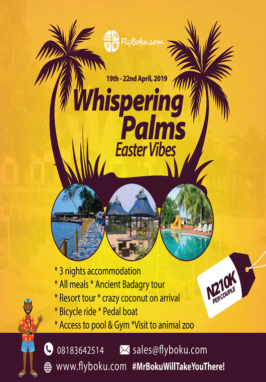 Whispering palms Easter vibes