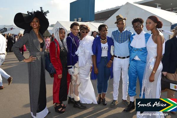 High-end fashion at the Vodacom Durban July