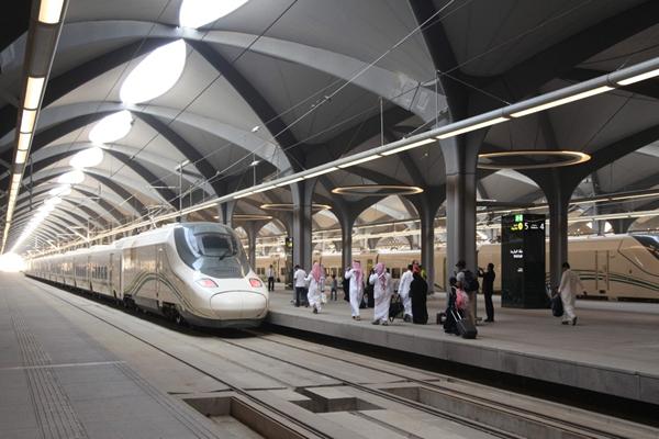Makkah to Madinah Train