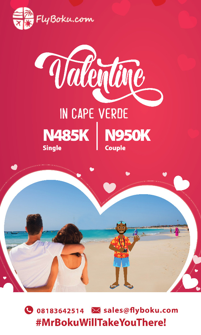 Valentine in Cape Verde