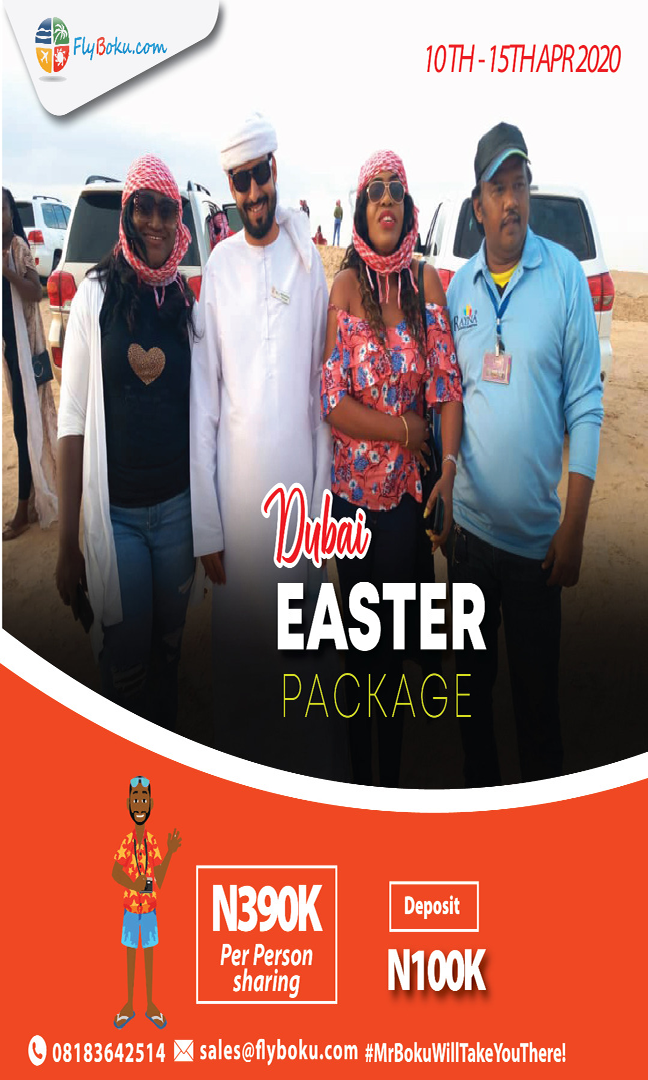 Dubai Easter package 2020