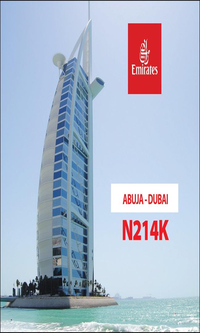 Emirates Abj dxb