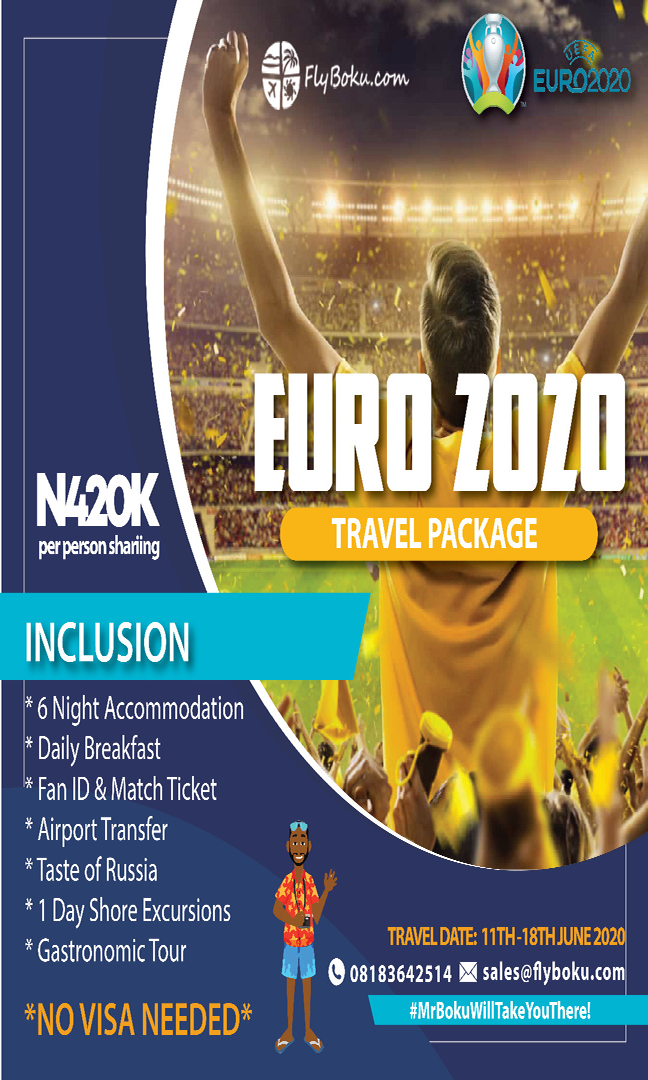 Euro 2020 package