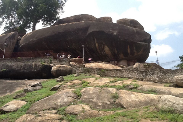 The Eternal Olumo rock